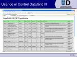 usando el control datagrid iii35