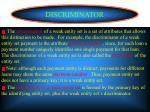 discriminator