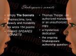shakespeare s sonnets5