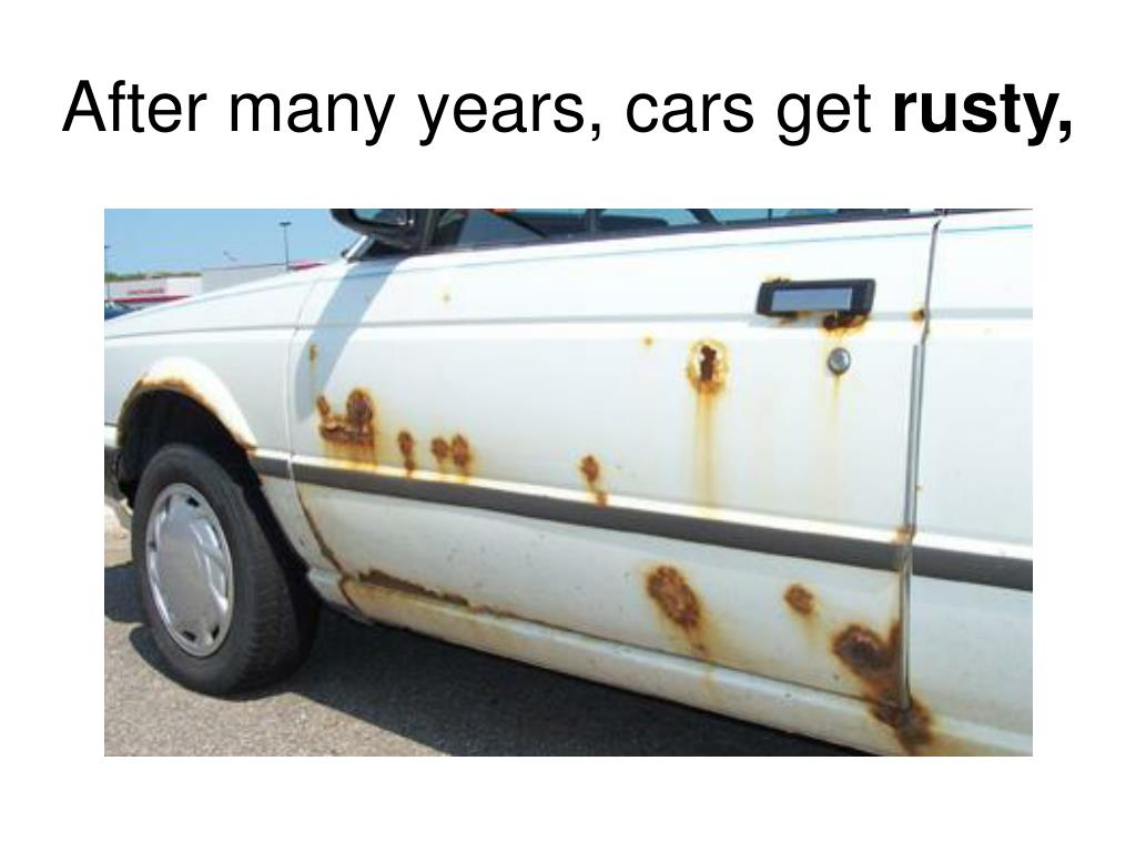 After many years, cars get