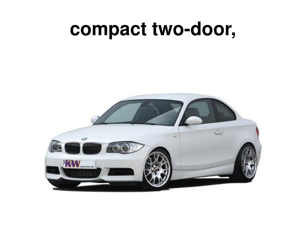 compact two-door,