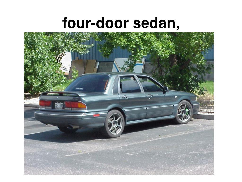 four-door sedan,