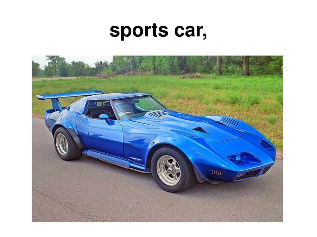 sports car,