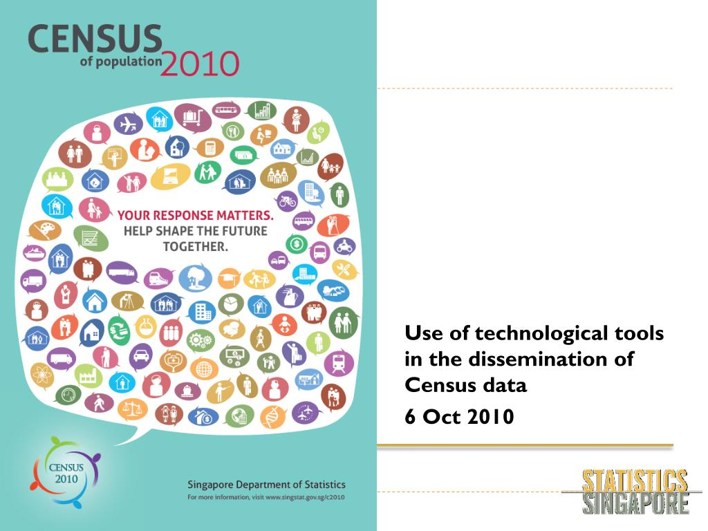 use of technological tools in the dissemination of census data 6 oct 2010 l.