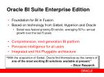 oracle bi suite enterprise edition