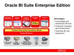 oracle bi suite enterprise edition11