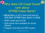 why does us coast guard care about epirb false alerts5