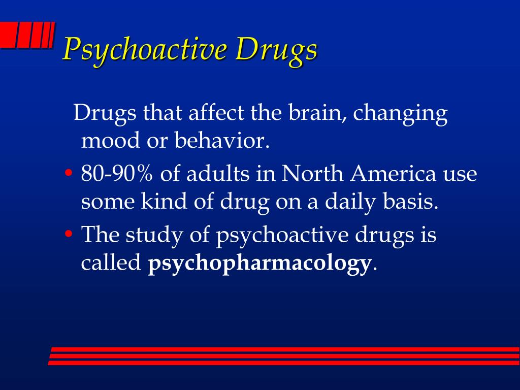 psychoactive drugs l.