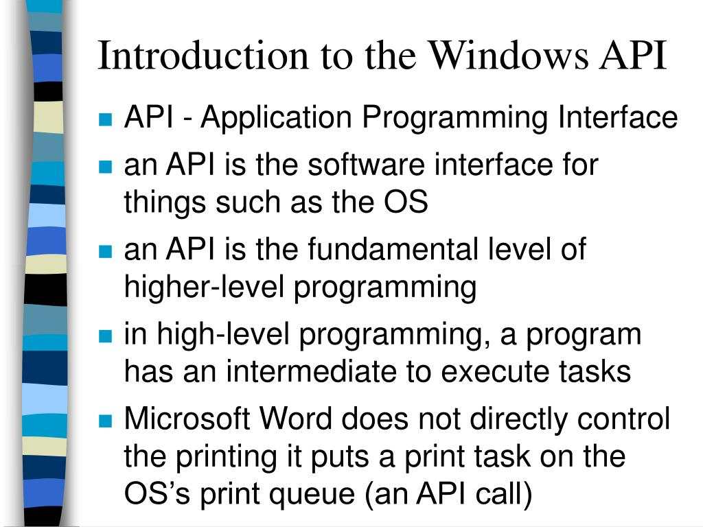 introduction to the windows api l.