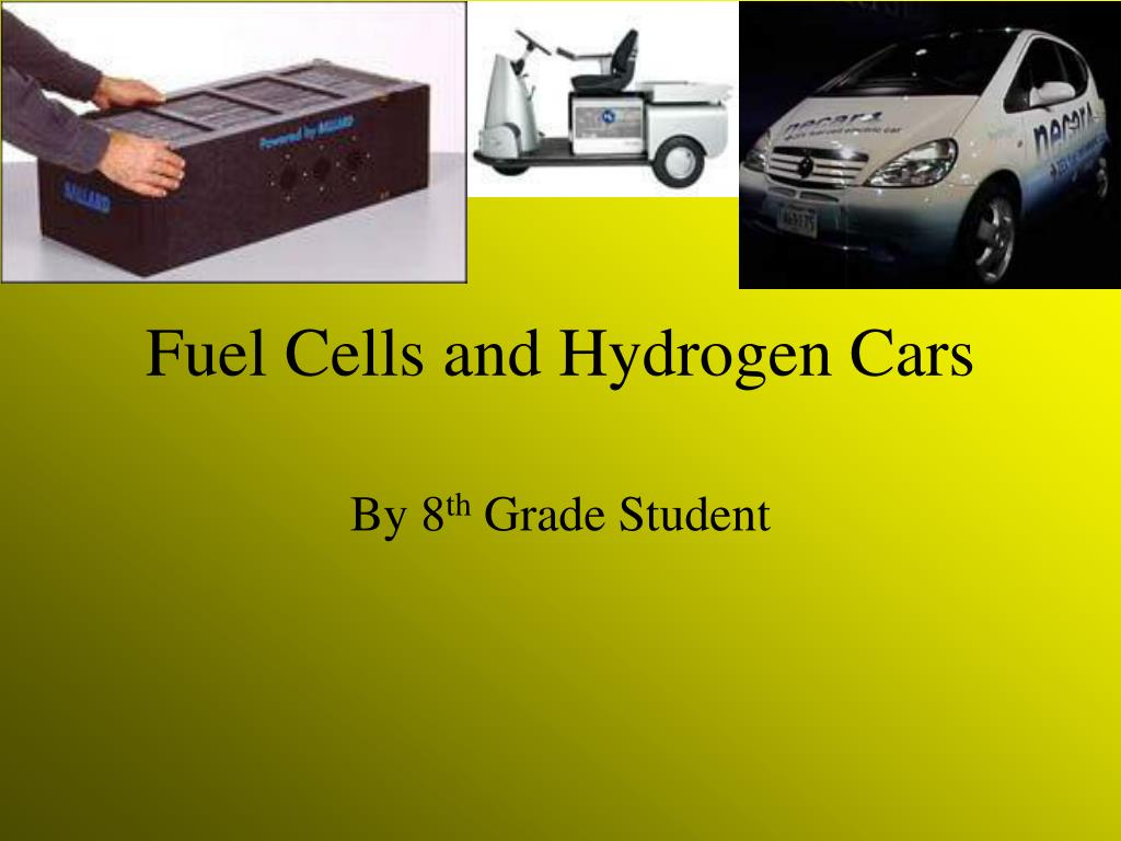 fuel cells and hydrogen cars l.