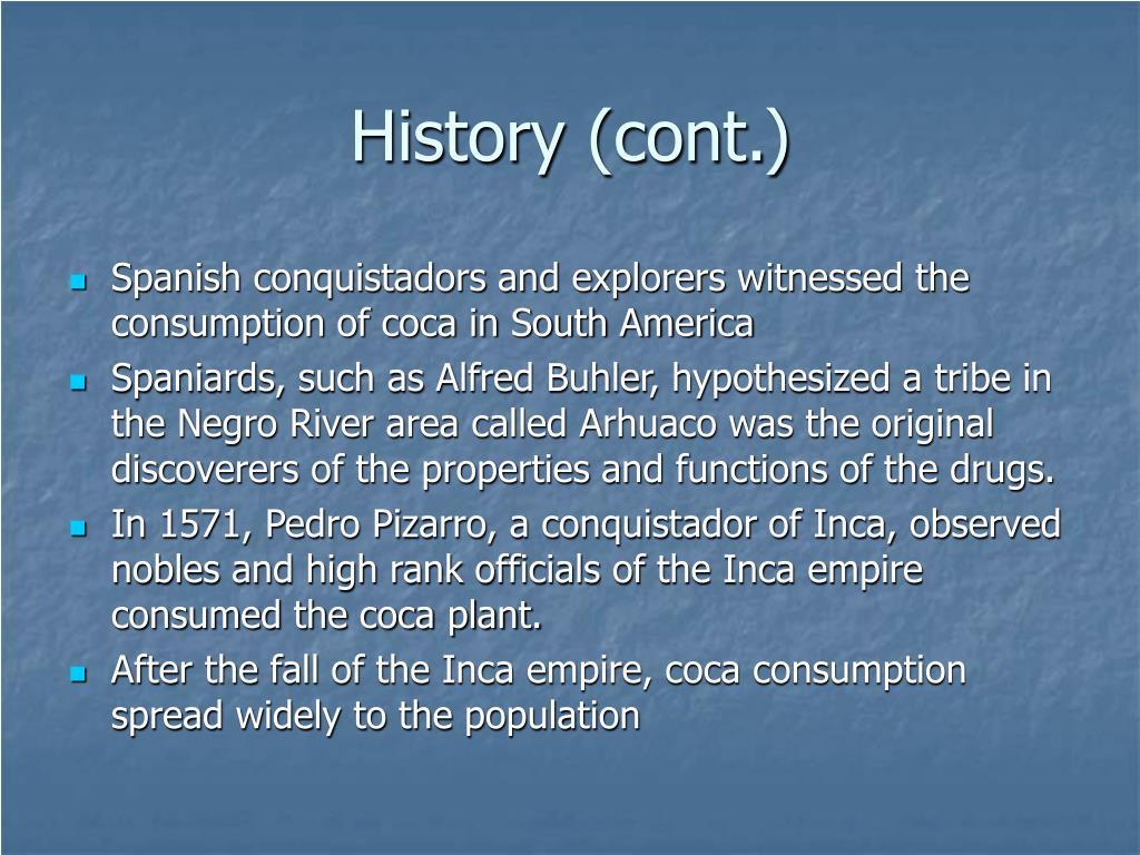 History (cont.)