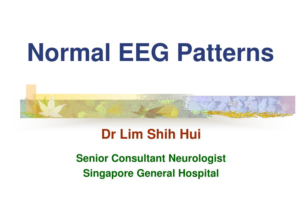 normal eeg patterns l.