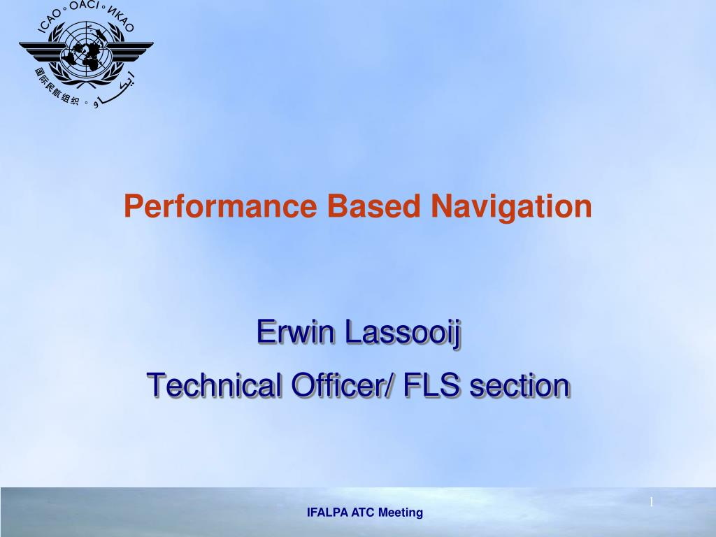 performance based navigation l.