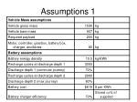 assumptions 1