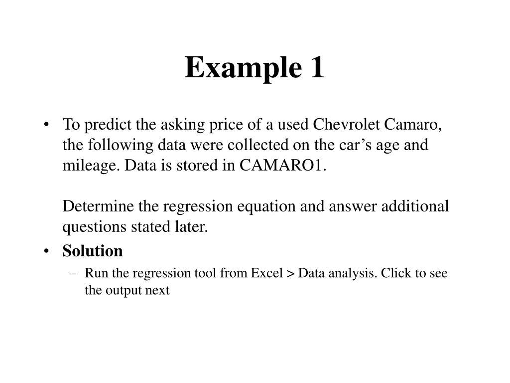 example 1 l.