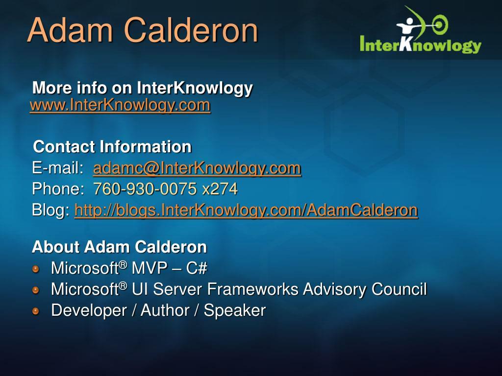 Adam Calderon