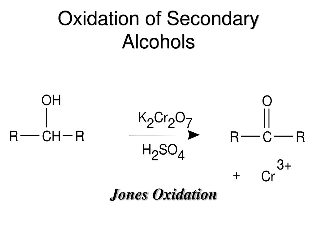 Oxidation of Secondary Alcohols