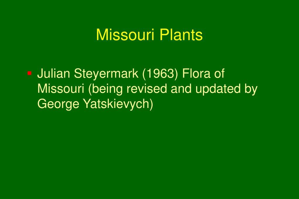 Missouri Plants
