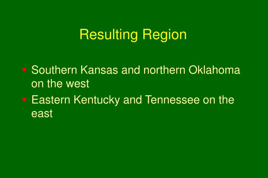 Resulting Region