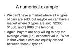 a numerical example12