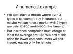 a numerical example21