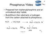 phosphorus ylides