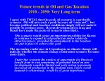 future trends in oil and gas taxation 2010 2050 very long term9