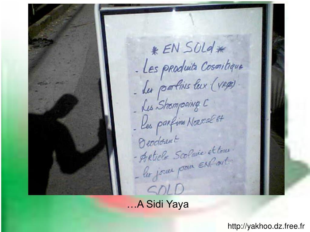 …A Sidi Yaya