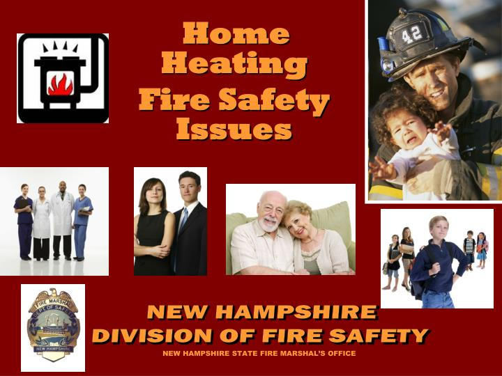 Home heating fire safety issues