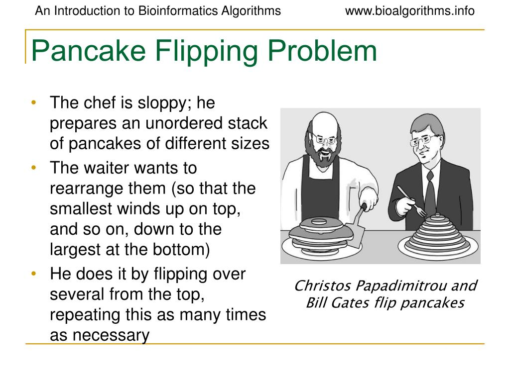 Pancake Flipping Problem