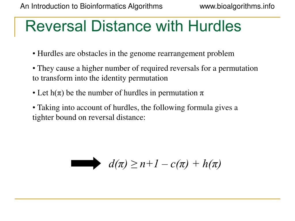 Reversal Distance with Hurdles