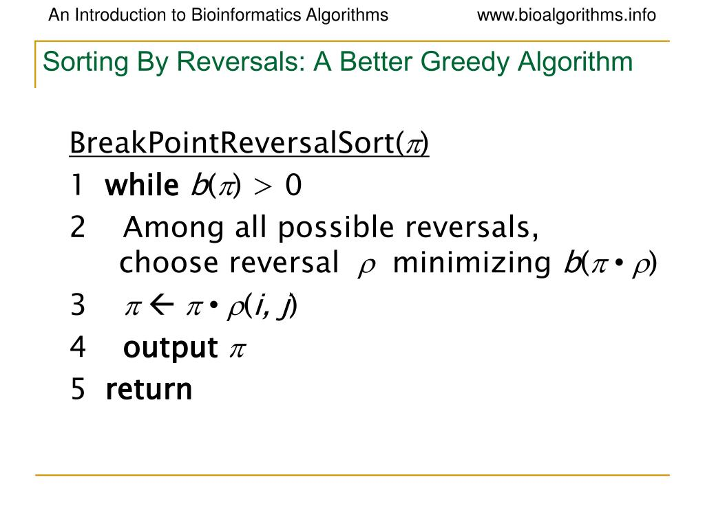 Sorting By Reversals: A Better Greedy Algorithm