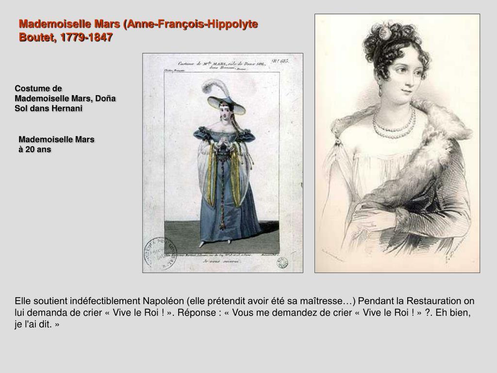 Mademoiselle Mars (Anne-François-Hippolyte Boutet, 1779-1847