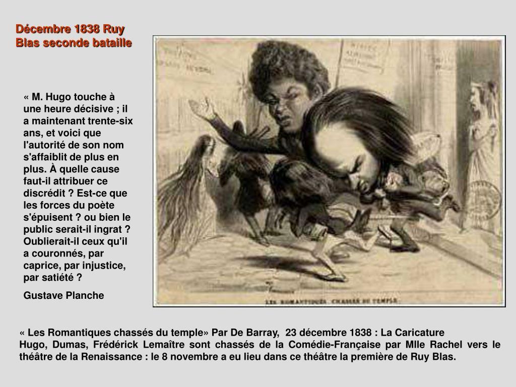 Décembre 1838 Ruy Blas seconde bataille