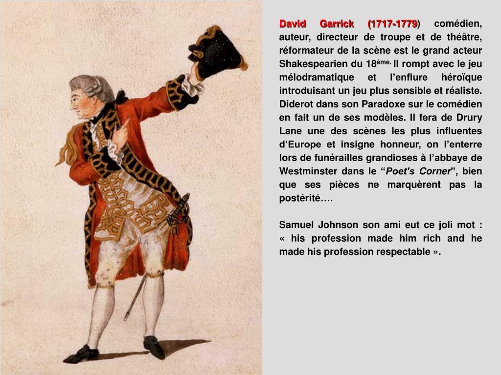 David Garrick (1717-1779
