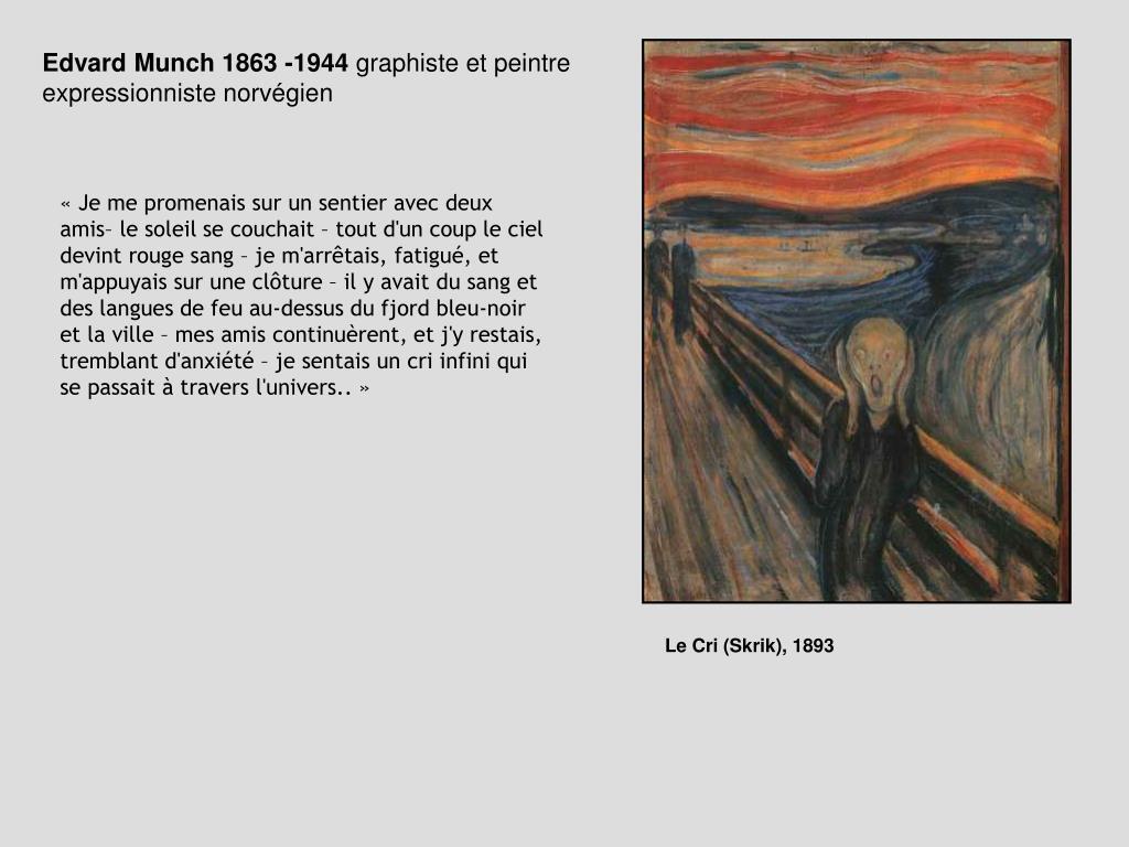 Edvard Munch 1863 -1944