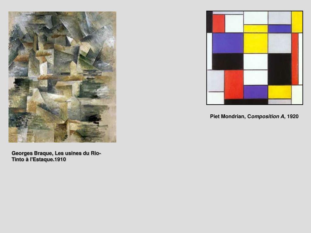 Piet Mondrian, C