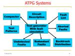 atpg systems