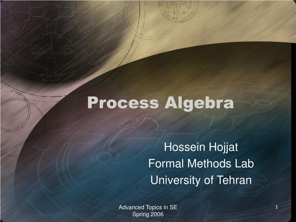 process algebra l.
