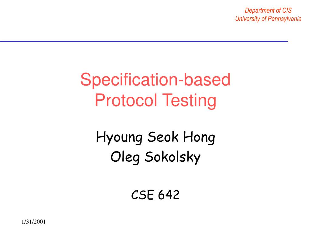 Specification-based