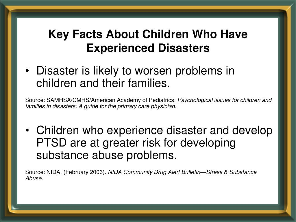 Key Facts About Children Who Have