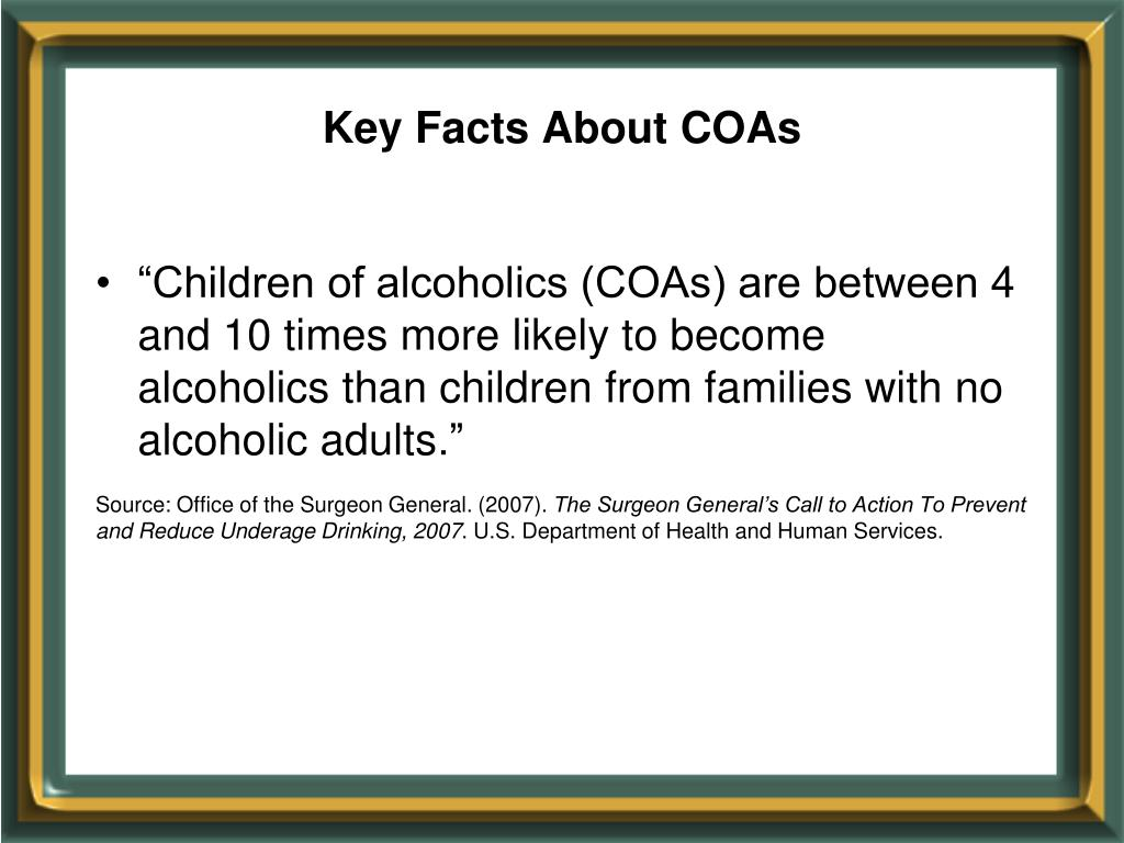 Key Facts About COAs