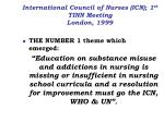 international council of nurses icn 1 st tinn meeting london 1999