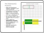 the distributive property6