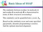 basic ideas of ssap