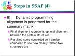 steps in ssap 4