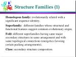structure families 1