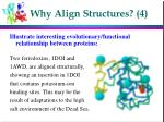 why align structures 4