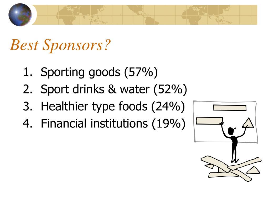 Best Sponsors?
