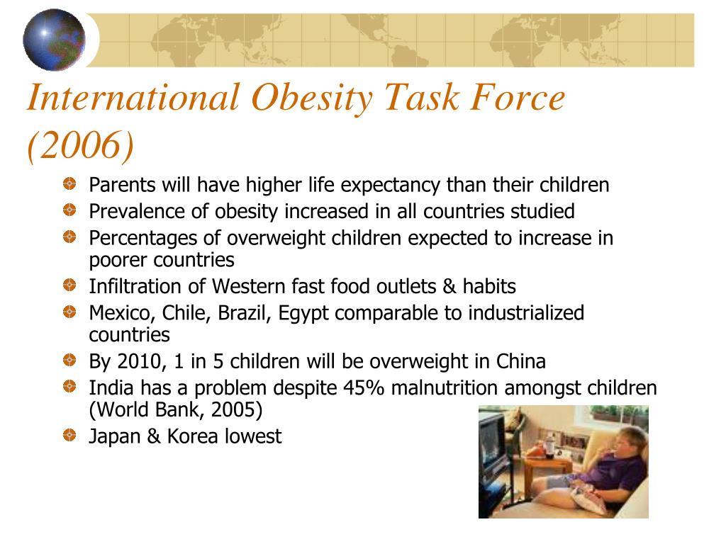 International Obesity Task Force (2006)